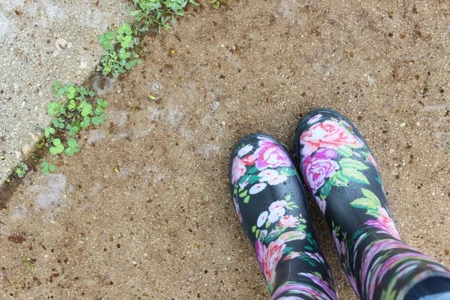 グリホサート 草 長靴